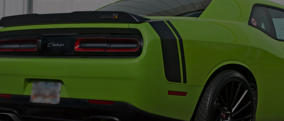 Challenger Racing Stripes, Challenger Vinyl Graphics, Challenger Hood Decals Kits