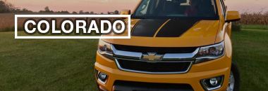 Chevy Colorado Stripes, Chevy Colorado Decals, Chevy Colorado Vinyl Graphics