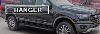 Ford Ranger Stripes, Ford Ranger Decals, Ford Ranger Vinyl Graphics