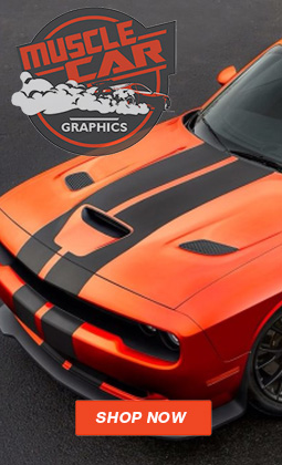Muscle Car Fast Car Decals Automotive Vinyl Graphic Stripes